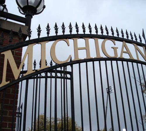 University of Michigan Gate
