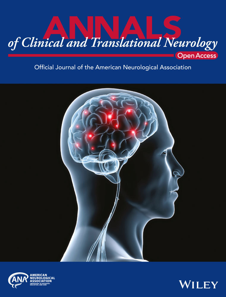 photo of the cover of Annals of Clinical and Translational Neurology