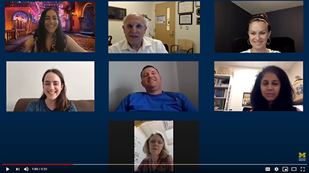Child Neurology faculty zoom meeting