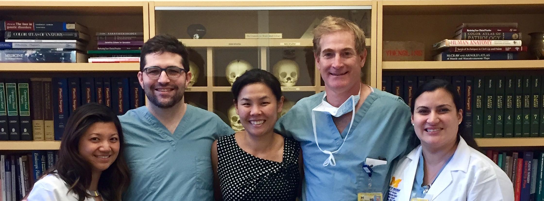 Plastic Surgery team members
