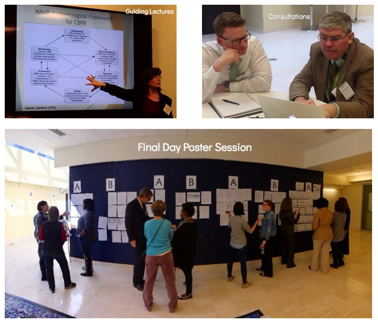 Michigan Mixed Methods workshop guiding lessons consultations poster session