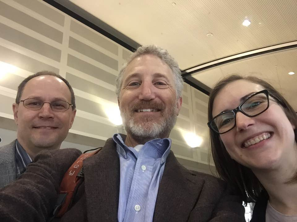 Image of Drs. Eric Skye, Grant Greenberg, and Beth Kennedy Jones at STFM 2017