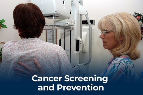Cancer and prevention screenings