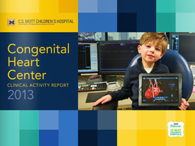 2013 Congenital Heart Center Clinical Activity Report
