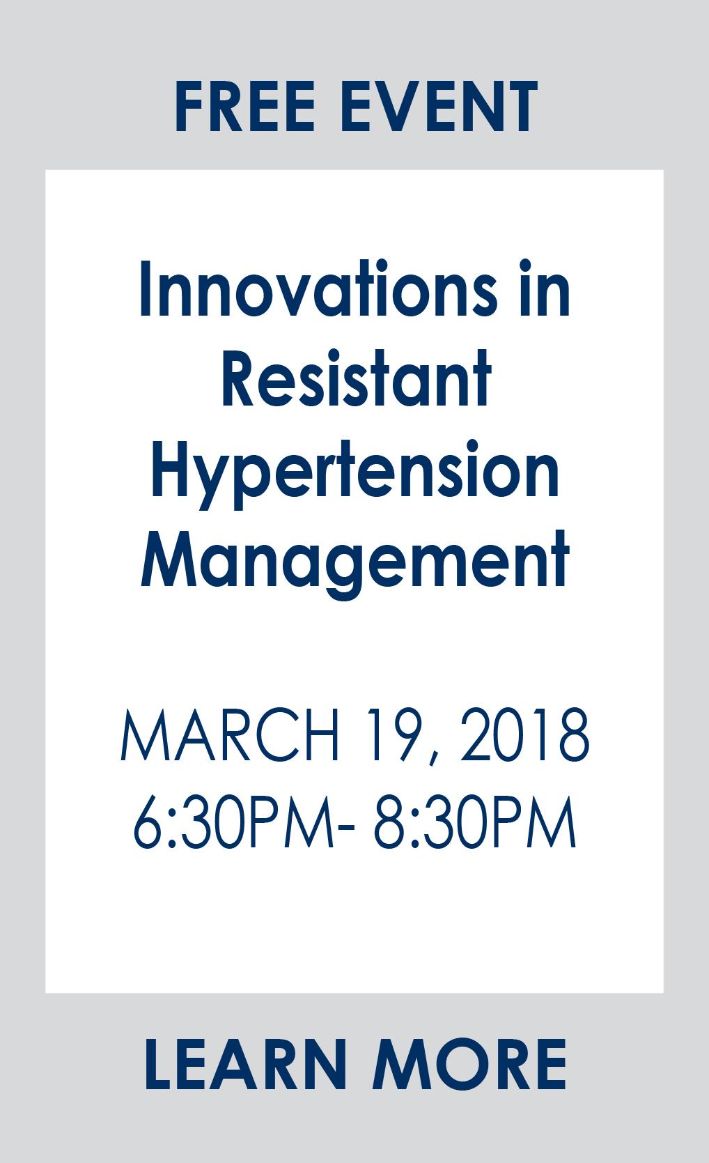 resistant hypertension management