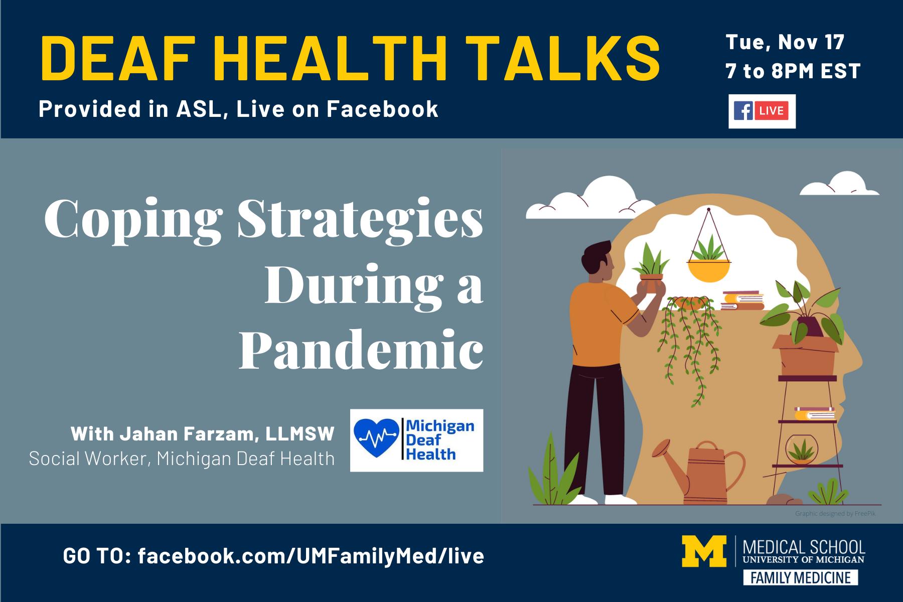 Deaf Health Talk Nov 17 2020 Event