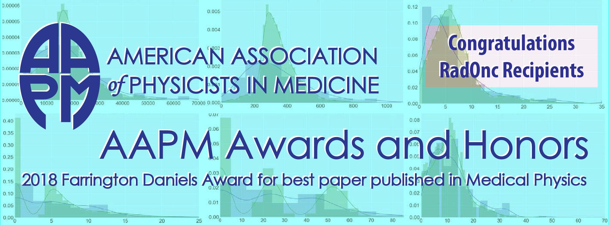 AAPM Farrington Daniels Award