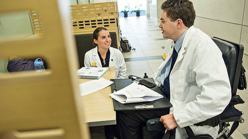 Michigan Medicine doctors with disablities