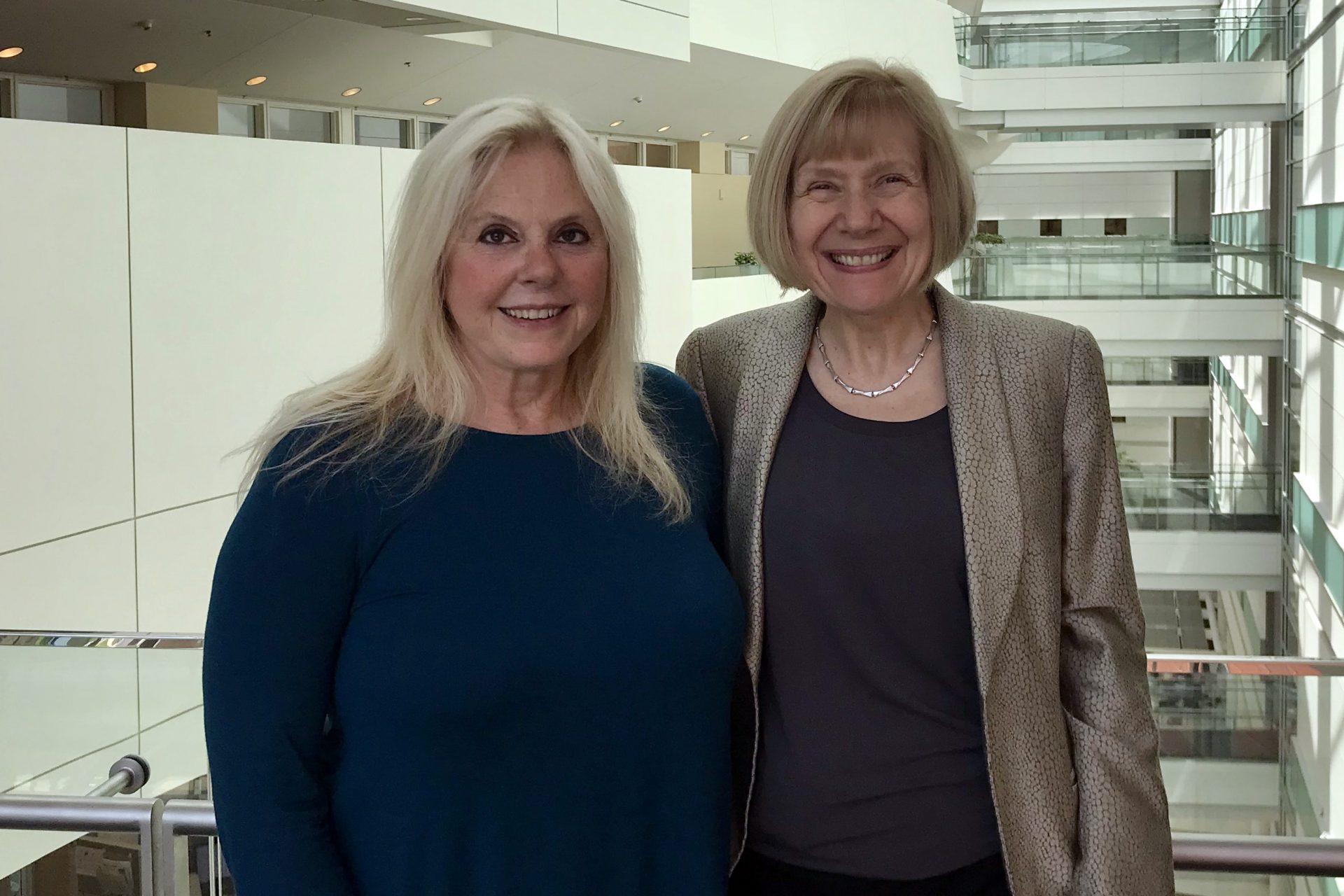 Charlene Handleman with Eva Feldman, MD, PhD