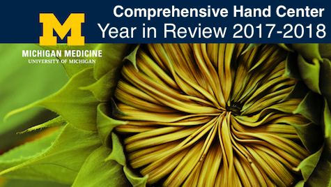 Comprehensive Hand Center Year in Review 2017 - 2018