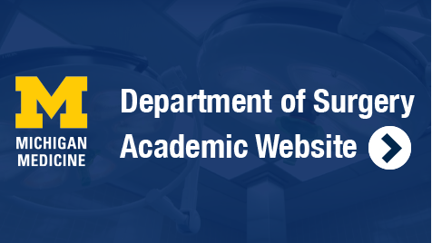 Department of Surgery Academic Website button