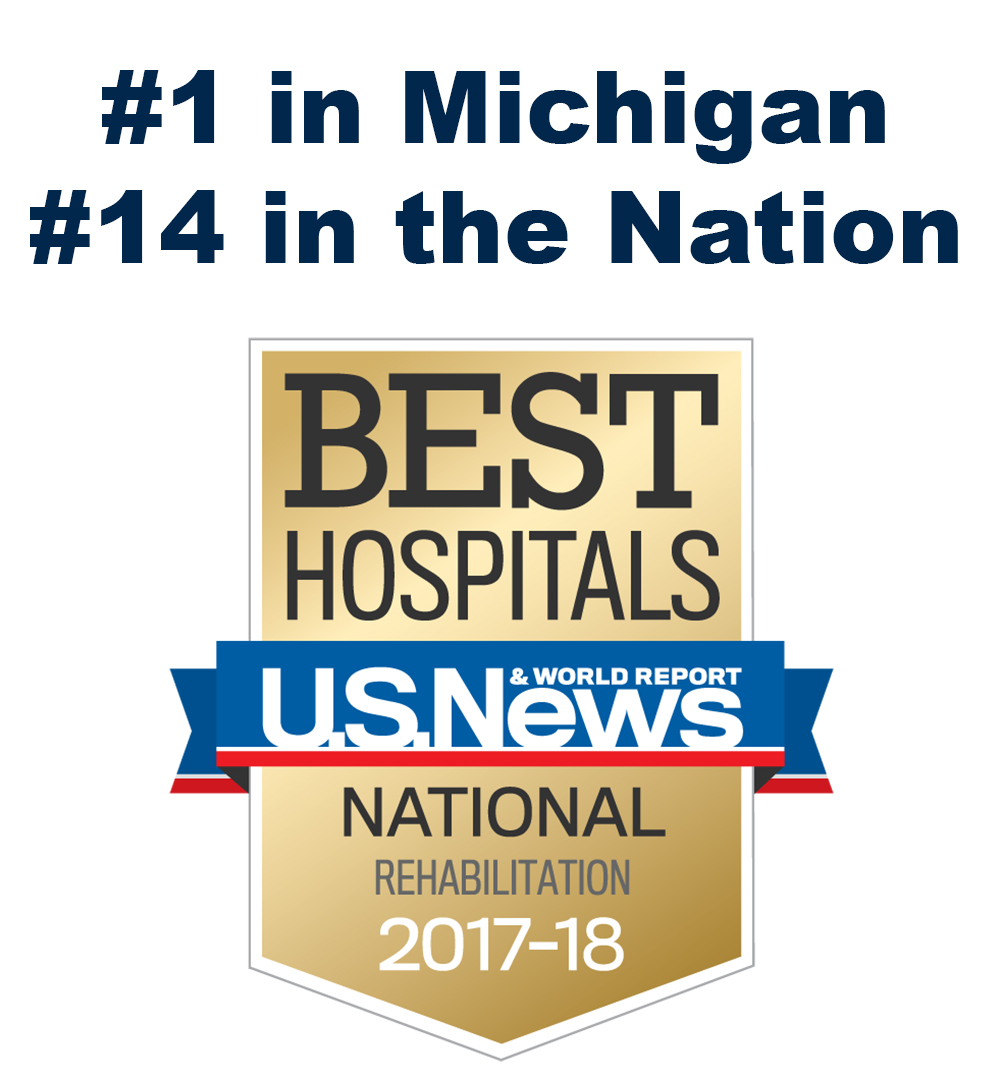 US News Graphic #14 in the Nation, #1 in Michigan