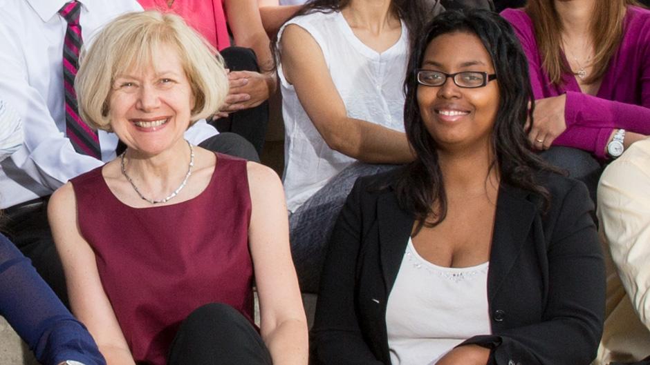 Drs. Eva Feldman and Catrina Robinson