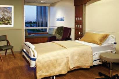 Michigan Medicine & St. Joseph Mercy Ann Arbor - 10 East Medicine Unit Room