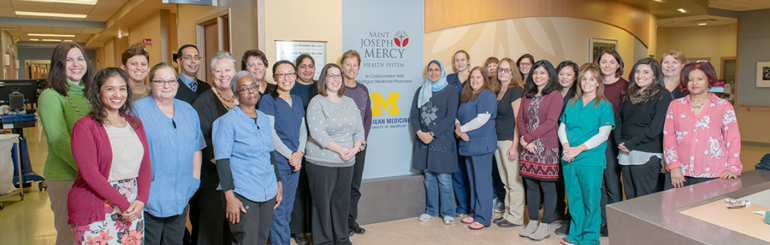 St. Joseph Mercy Ann Arbor - 10 East Medicine Unit Team