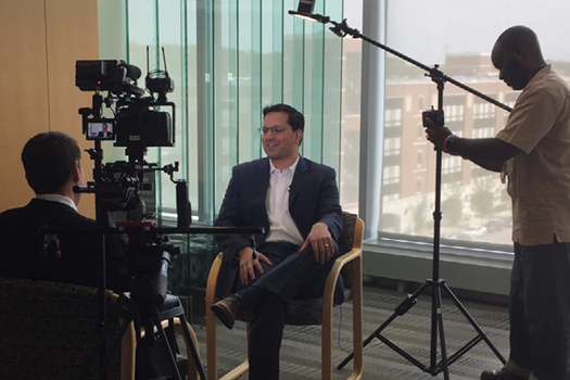 Dr. Scott Soleimanpour is interviewed by WDIV's Medical Expert, Dr. Frank McGeorge