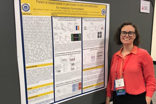 Dr. Gemma Pearson presents her work at the 2019 American Diabetes Association Scientific Sessions