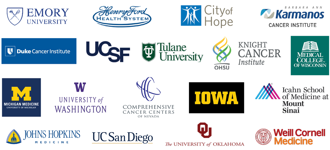 Participating Centers' Logos