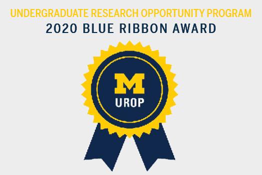 UROP 2020 Blue Ribbon Award