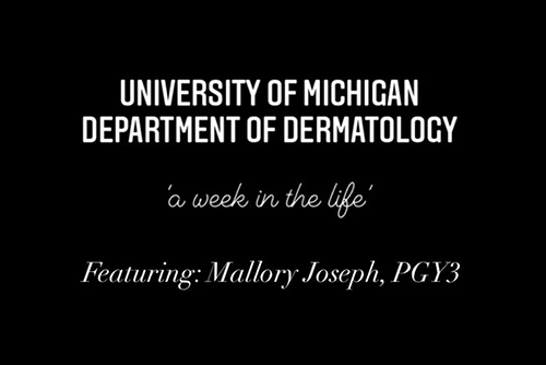 Week in the life - PGY3