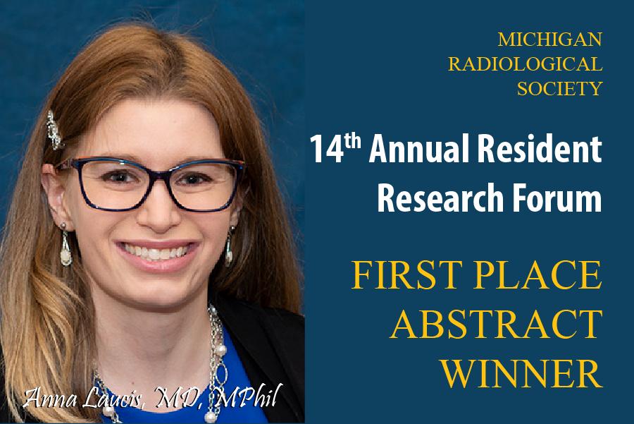 Resident Research Forum Winner