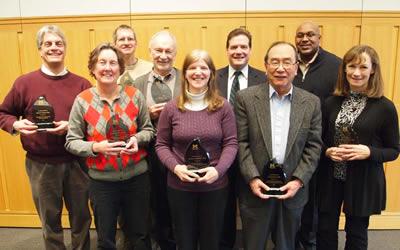 2011 EBS Teaching Award Recipients