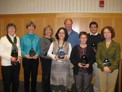 2012 EBS Teaching Award Recipients