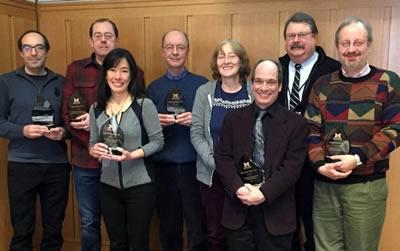 2015 EBS Teaching Award Recipients