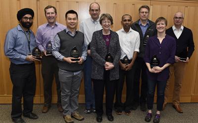 2016 EBS Teaching Award Recipients