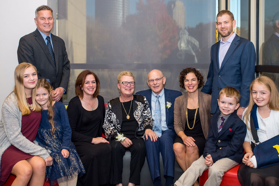 Portrait of multiple generations of the Betz family