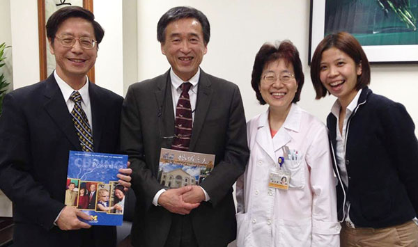 Dr. Kaz Soon with visitors from Taiwan