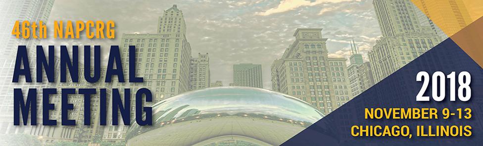 46th napcrg annual meeting 2018 november 9-13 chicago, illinois