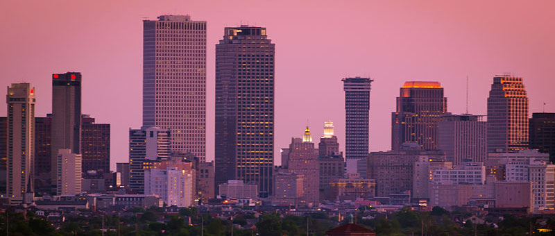 Skyline of New Orleans, LA