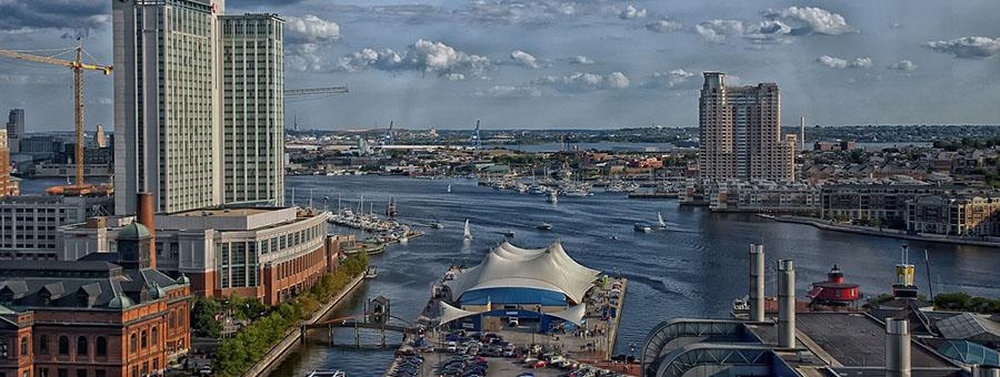 Baltimore Maryland waterfront