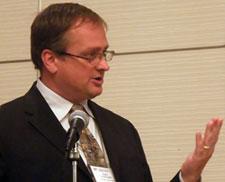 Dr. David Antonetti lecturing