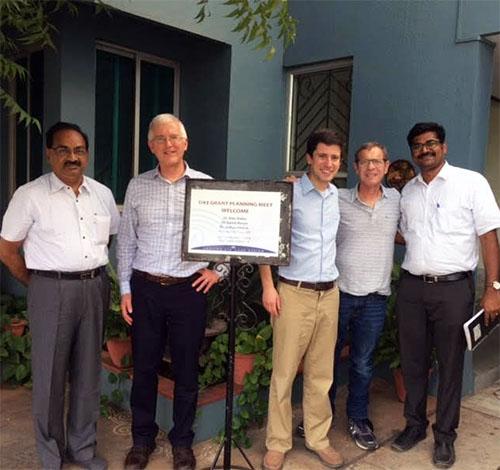 Dr. S. R. Krishnadas, David Musch, Ph.D., M.P.H., Joshua Ehrlich, M.D., M.P.H., Alan Robin, M.D., and Dr. Ashok Vardhan.