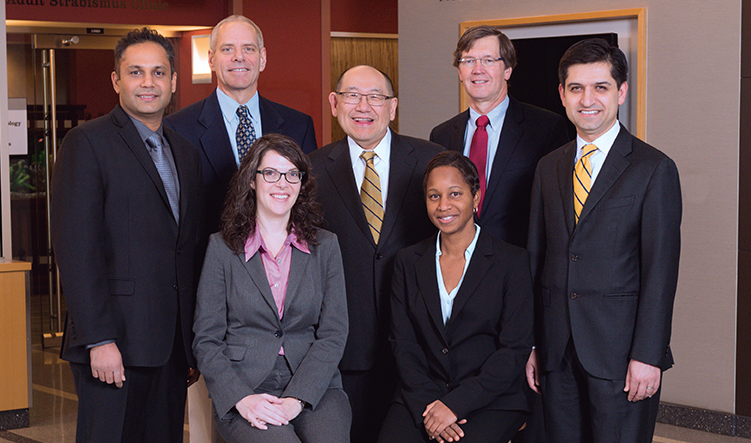 U-M Kellogg Eye Center leadership team