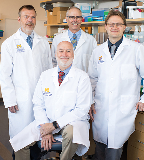 Philip Gage, Ph.D., Peter Hitchcock, Ph.D., Bret Hughes, Ph.D., and Patrice Fort, Ph.D., M.S.