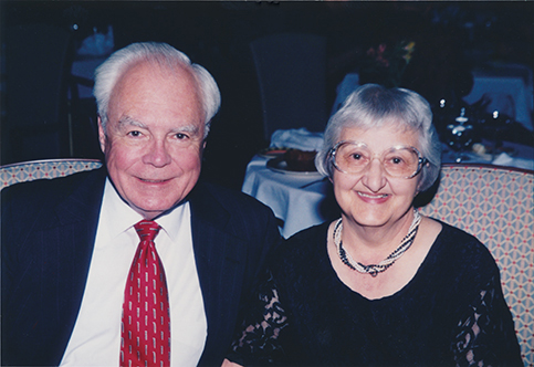 Donald R. Sherman and his wife Laura
