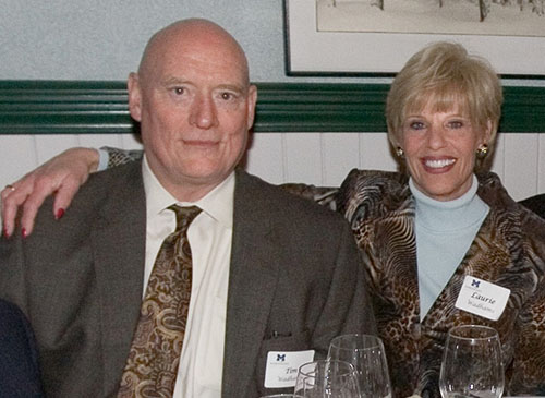Longtime Kellogg supporters Laurie and Timothy Wadhams have  endowed the Wadhams Ophthalmic Research Fund.