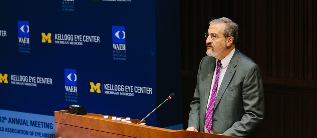 University of Michigan President Mark Schlissel, MD, PhD, spoke a