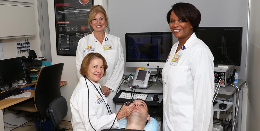 Kellogg Eye Center Ultrasound Group