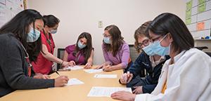 Group of pediatric nephrology trainees
