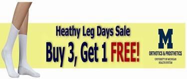 Health Leg Day Sale Logo