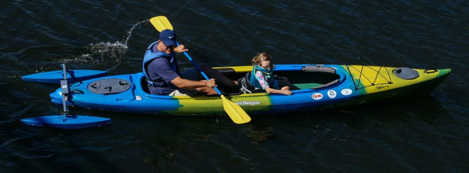 Adapted Kayaking in Gallup Park