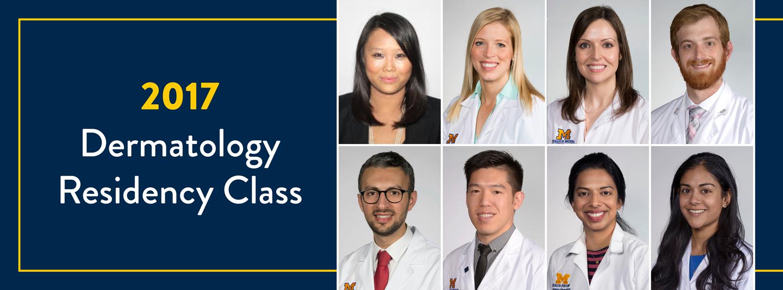 2017 Dermatology Residency Class