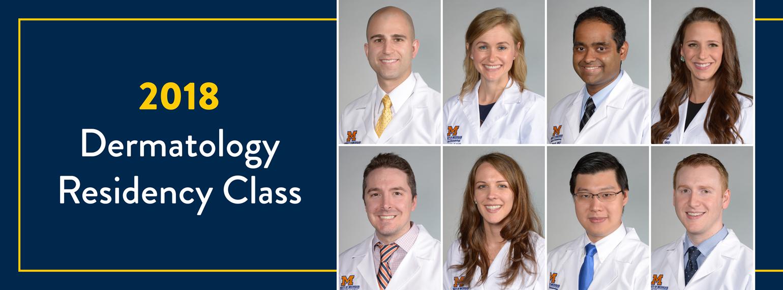 2018 Dermatology Residency Class