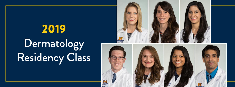 2019 Dermatology Residency Class