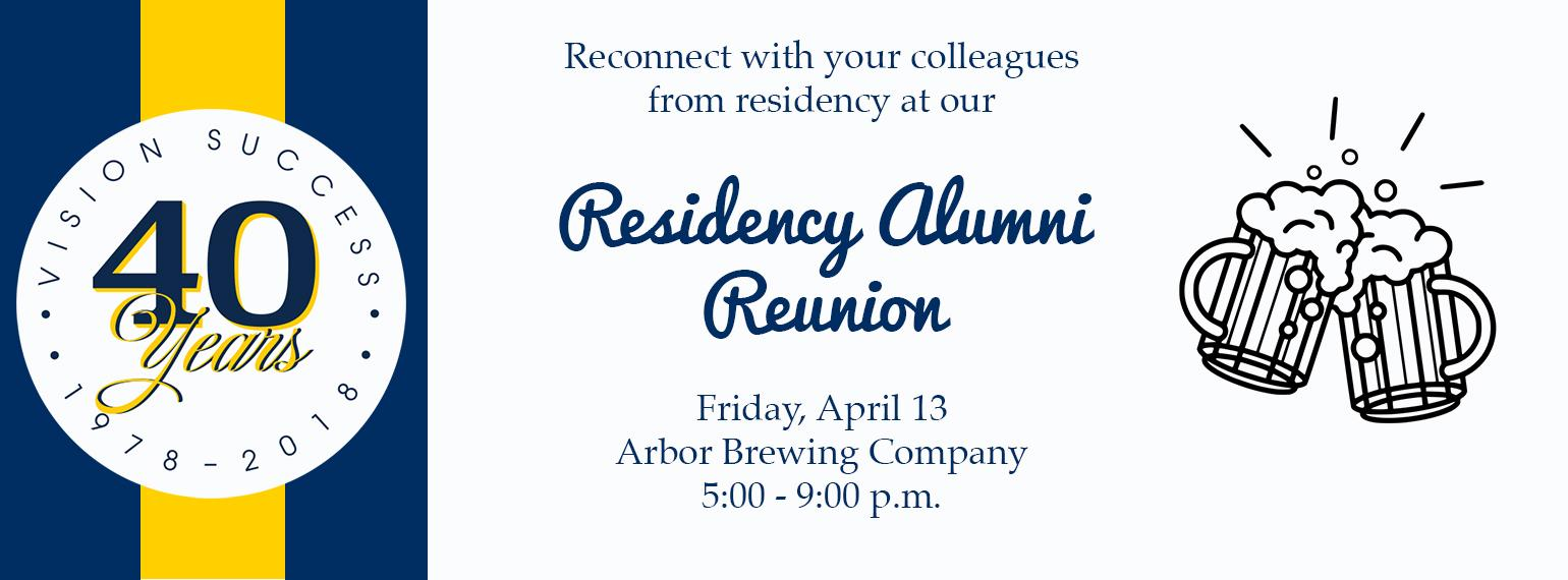 40th Anniversary Family Medicine Alumni Reunion