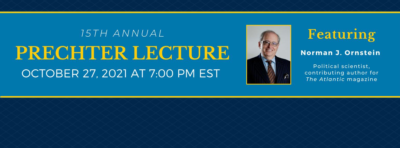 15th Annual Prechter Lecture